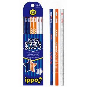 筆記用具 子供用 / ippo !(イッポ) 鉛筆 かきかたえんぴつ プリント柄 男の子用 1ダース(ペンハウス Yahoo店) *60PKB-KRM03- (600)|penworld