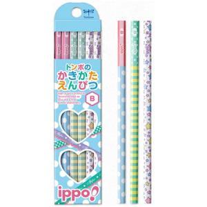 筆記用具 子供用 / ippo !(イッポ) 鉛筆 かきかたえんぴつ プリント柄 女の子用 1ダース(ペンハウス Yahoo店) *60PKB-KRW03- (600)|penworld