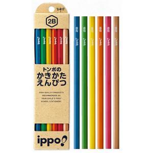 筆記用具 子供用 / ippo !(イッポ) 鉛筆 かきかたえんぴつ ナチュラル 男女用 1ダース(ペンハウス Yahoo店) *60PKB-KNN03- (600)|penworld