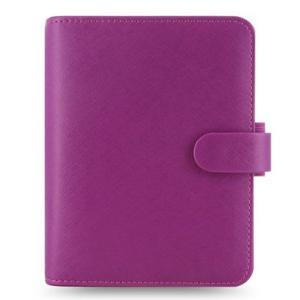 システム手帳 ブランド / ファイロファックス ポケットサイズ サフィアーノ システム手帳 022452 ラズベリー *37A022452 (6000)|penworld