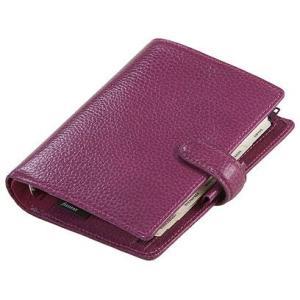 システム手帳 ブランド / ファイロファックス ポケットサイズ フィンスバリー システム手帳 025342 ラズベリー 37A025342 (11000)|penworld
