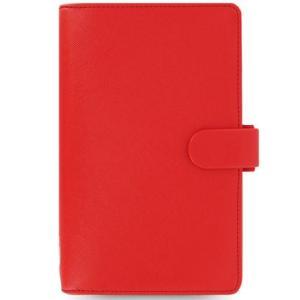 システム手帳 ブランド / ファイロファックス コンパクトサイズ サフィアーノ システム手帳 022472 レッド 37A022472 (7000)|penworld