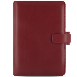 システム手帳 ブランド / ファイロファックス バイブルサイズ メトロポール システム手帳 026910 レッド 37A026910 (6000)|penworld