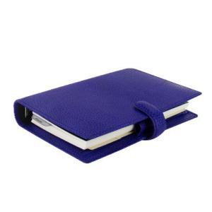 ファイロファックス バイブルサイズ フィンスバリー システム手帳 022499 ブルー 27867 (14000) penworld