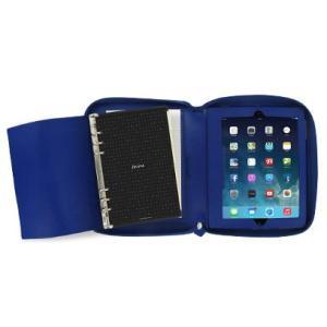 システム手帳 ブランド / ファイロファックス A5 サイズ ペニーブリッジ iPad オーガナイザー システム手帳 028039 ブルー 37A028039 (13000)|penworld