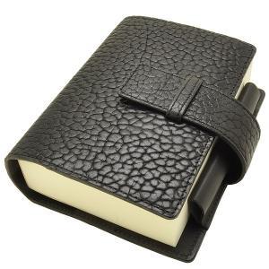Pent〈ペント〉 パピルス アメリカンバイソン by大和出版印刷&ケイシイズ KCC19CS  ノートブック&カバーセット ブラック  (29700)|penworld