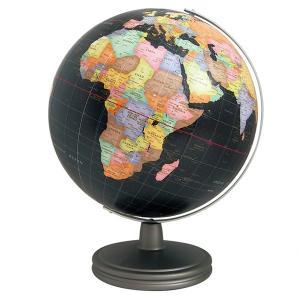 ワタナベ(渡辺教具製作所) 地球儀 セブンブラック地球儀 W-3220 スチール台 30596 (35000)|penworld