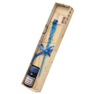 ガラスペン ブランド / ルビナート ガラスペン ガラスペン+9ccインクセット NOV/E+INK ターコイズ 129FNOV/E+INK-TUR (3400)|penworld