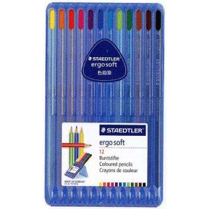 色鉛筆 ブランド / ステッドラー 色鉛筆 エルゴソフト 157SB12 12色セット 72C157SB12 (1780) penworld