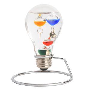 デスクアクセサリー Fun Science(ファン・サイエンス) 333-208 ガラスフロート温度計 電球32156 |penworld
