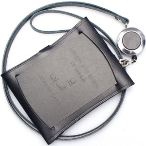 ヴィンテージ リバイバル プロダクションズ Flex ID Wear 59218NV リール付マルチパス定期ホルダー ネイビー 235A59218NV (6000)|penworld