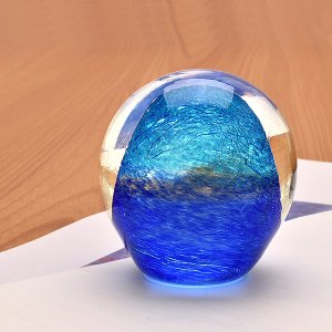 Pent〈ペント〉 ペーパーウェイトbyアートファクトリー 彩氷 海II  / 高級 プレゼント ギフト /  34243 (7500)|penworld