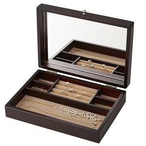 デスクアクセサリー Wooden Case 017-805 木製ジュエルケース / 高級 ブランド / 34360 (5000)|penworld