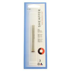 ボールペン 替え芯 / シェーファー ボールペン芯 クアトロ用 黒赤青 M セット / ブランド /  13S8518SH (800)|penworld
