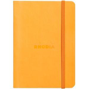 ロディア RHODIA A5サイズ ロディア RHODIAラマ ソフトカバー ノートブック cf117415 オレンジ 横罫 36402 (2100)|penworld