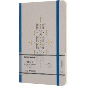 モレスキン MOLESKINE ノートブック 限定版 タイム LCTM33BJ 5180302 ラージサイズ ブルー 無地 38637 (2900)|penworld
