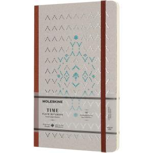 モレスキン MOLESKINE ノートブック 限定版 タイム LCTM33PJ 5180303 ラージサイズ ブラウン 無地 38638 (2900)|penworld