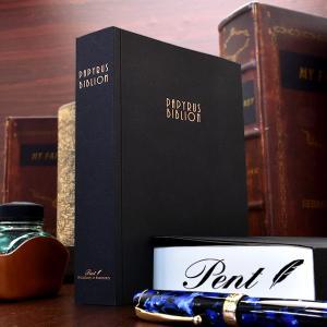 Pent〈ペント〉 パピルス ノート ビブリオン  by大和出版印刷 罫線 バイブルサイズ 39605 (2760)|penworld