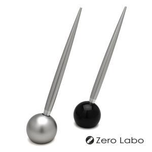 ボールペン デスクペン / ゼロラボ(ゼロ精工) ボールペン&ペンスタンド ZE206S 39671 (3900)|penworld