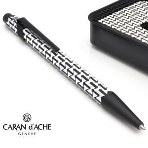 カランダッシュ CARAND'ACHE ボールペン 限定品 849アレキサンダー・ジラード ブラック ダブルトライアングル <缶入> X/NF0849-124 (7000)|penworld