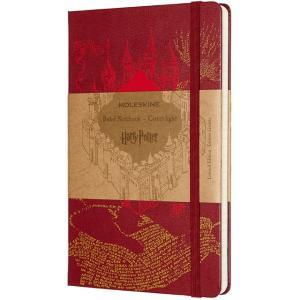 モレスキン MOLESKINE ノートブック 限定版 ハリー・ポッター LEHPDQP060 5181130 ラージサイズ レッド 横罫 41302 (3500)|penworld