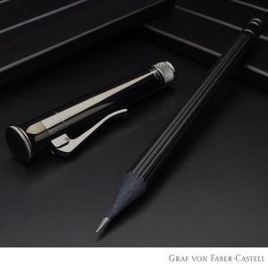 鉛筆 ファーバーカステル FABER-CASTELL パーフェクトペンシル PVDコーティング ブラ...