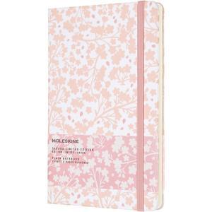 モレスキン MOLESKINE ノートブック 限定品 さくらコレクション LESU02QP062 5181564 ラージサイズ ホワイト 無地 41719 (3500)|penworld