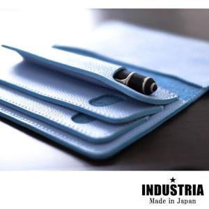 ペンケース 革 インダストリア INDUSTRIA セパレート ペンケース 3本用 IND-LSP3|penworld