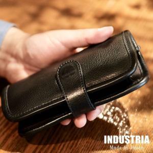 ペンケース 革 インダストリア INDUSTRIA オムレット ペンケース  6本用 IND-LOP6|penworld