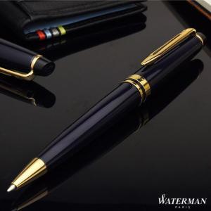 ボールペン ウォーターマン 名入れ 無料 WATERMAN  エキスパート エッセンシャル プルシアンブルーGT 2093763|penworld