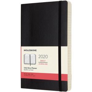 モレスキン手帳 ラージサイズ 2020年版 デイリーダイアリー <1日1ページ> ソフトカバー ブラック DSB12DC3Y20 5182021|penworld