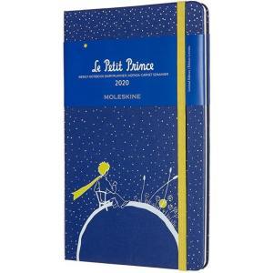 モレスキン手帳 ラージサイズ 2020年版 限定版 星の王子さま ウィークリーダイアリー <見開き1週間(スケジュール+ノート)> ハードカバー PLANET 5182088|penworld