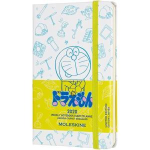 モレスキン手帳 ポケットサイズ 2020年版 限定版 ドラえもん ウィークリーダイアリー <見開き1週間(スケジュール+ノート)> ハードカバー 5182089|penworld