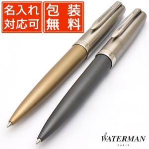 ボールペン ウォーターマン 名入れ WATERMAN  エンブレム デラックス 210304の画像