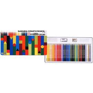 色鉛筆 ブランド / サクラクレパス 色鉛筆 クーピーペンシル FY30 30色 缶入り 80CFY30 (2300)|penworld