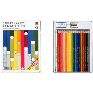 色鉛筆 ブランド / サクラクレパス 色鉛筆 クーピースタンダード PFY18 18色 80CPFY18 (1200)|penworld
