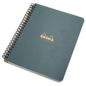 ロディア 単品 クラシック ダブルリング ミーティングブック(A5) ブラック #65SCF193419  (1650)|penworld