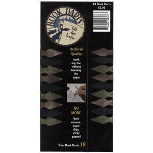 モレスキン MOLESKINE アクセサリー   ブックダーツ マルチカラー 18個入 BOOKDARTS-MC18 7647 (600) penworld
