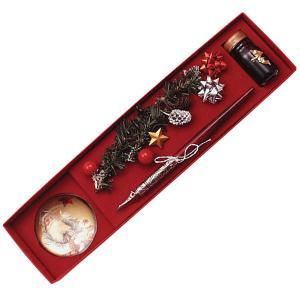 ルビナート クリスマス ライン ウッディホルダーペン MC/06-8500 メタルデコレイト 8668 |penworld
