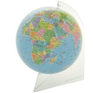 ワタナベ(渡辺教具製作所)  地球儀 シティーズ15 WF W-1505 クリアプラスティック台 9960 (3800)|penworld