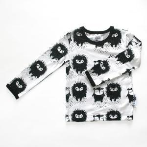 【クリックポスト対応】PaaPii DESIGN(パーピーデザイン)/長袖Tシャツ/SIIRI&MYYRY ホワイト/フィンランド/子供服//オーガニック|pepapape