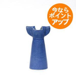 WARDROBE DRESS/ワードローブ ドレス ブルー/Lisa Larson(リサ・ラーソン)/置物/オブジェ/花器/フラワーベース|pepapape