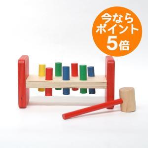 【ポイント5倍&送料無料】イタリアの木のおもちゃ/batti(バッティ) トンカチのおもちゃ/IL LECCIO(レシオ)|pepapape