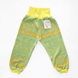 フィンランドブランド MURU パンツ 「キリン グリーン」「サイズ:86/92,98/104」/子供服/オーガニック|pepapape
