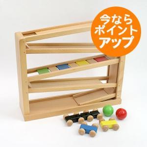 【送料無料】吊橋ミニコースター/木のおもちゃ/カータワー/知育/木製玩具|pepapape