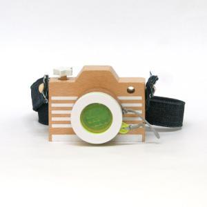 木のおもちゃ/camera/yellow/カメラ/イエロー/kiko+/キコ/ごっこ遊び/複眼レンズ/知育玩具|pepapape