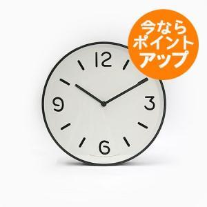 【送料無料】MONO Clock/モノクロック/ホワイト(LC10-20 A WH)/壁掛け時計/Lemnos/レムノス/奈良雄一|pepapape