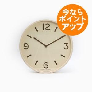 【送料無料】THOMSON/トムソン/ナチュラル(LC10-26 NT)/壁掛け時計/Lemnos/レムノス/奈良雄一|pepapape