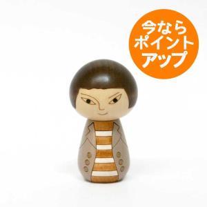 こけし/日本人/コート/リサ・ラーソン/kokechi/オブジェ/置物/木製/ヤパンンスカ/彫刻/Lisa Larson/Japanska/Sculptures|pepapape