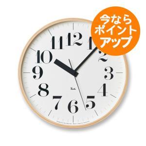 【送料無料】リキクロック/Lサイズ/電波時計/太文字タイプ/壁掛け時計/Lemnos/レムノス/渡辺 力|pepapape